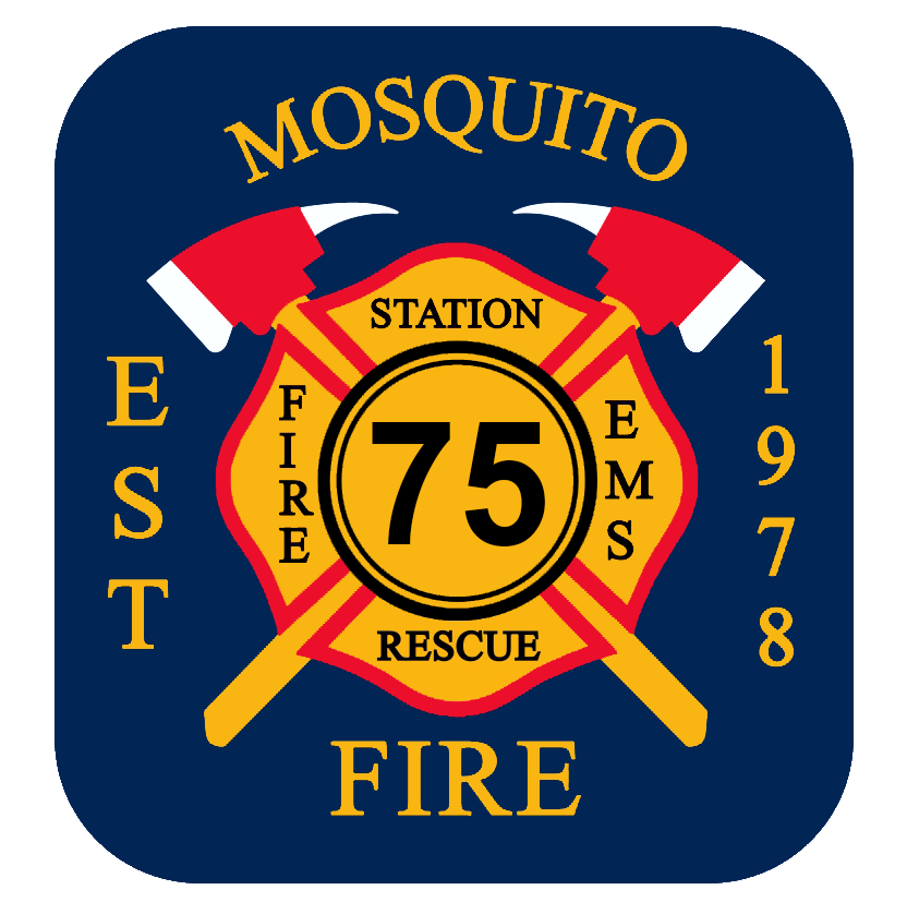MOSQUITO FIRE PROTECTION DISTRICT Logo